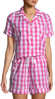 Bedhead Pajamas Gingham Shorty Pajama Set