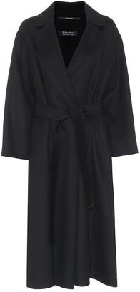 S Max Mara Elena belted wool coat