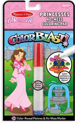 Melissa & Doug Colorblast Princess No-Mess Coloring Pad