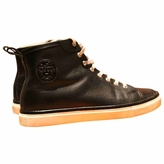Hermes Leather high trainers