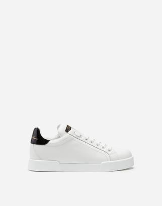Dolce & Gabbana Leather Portofino Sneakers - Women