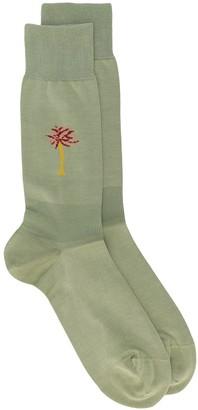 Marni Contrast Detail Socks