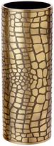 L'OBJET Crocodile Gold Vase - Large