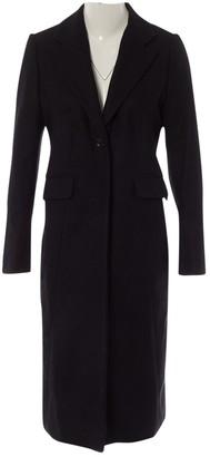Dagmar Black Wool Coat for Women