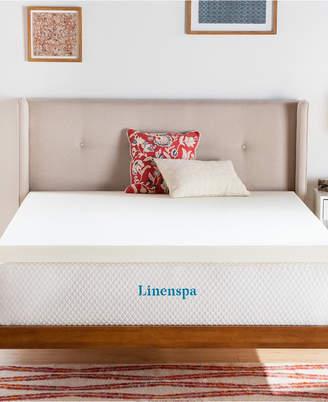 "Linenspa Signature Collection 3"" ActiveRelief Memory Foam Mattress Topper, California King"