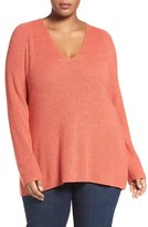Nic+Zoe Plus Size Women's Everyday Mix Knit Top