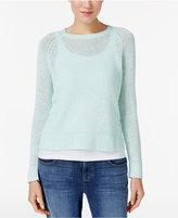 Eileen Fisher Organic Linen-Blend Sweater