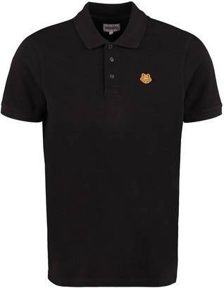 Kenzo Cotton Pique Polo Shirt
