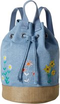 Stella McCartney Gardenia Bucket Backpack - Light Blue - One Size