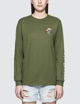 Stussy Hippie Skull L/S T-Shirt