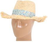 Steve Madden Cowboy Ditsy Hat (Blue) - Hats