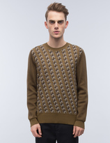 Marc Jacobs Double J Jacquard Jumper