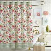Jessica Simpson Watercolor Garden Shower Curtain in Pink