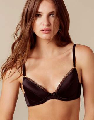 Agent Provocateur UK Felinda Padded Plunge Underwired Bra