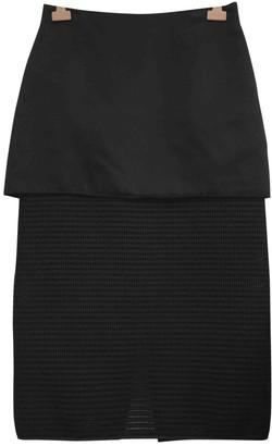 Ellery Black Silk Skirt for Women