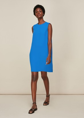 Cocoon Crepe Dress