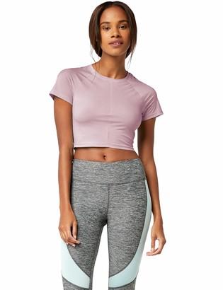 Aurique Amazon Brand Women's Sports Crop Top