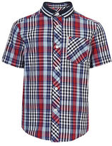 Ben Sherman Short Sleeve Tartan Shirt