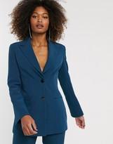 Asos DESIGN pop suit blazer in teal