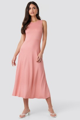 MANGO Chicle Dress Pink