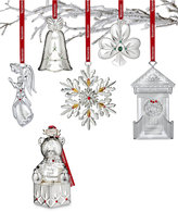 Waterford Silver 2017 Baby's First Ornament