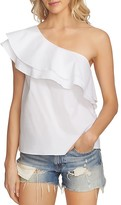 1 STATE 1.STATE One-Shoulder Ruffle Top