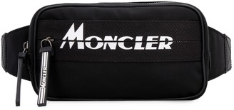 Moncler Aude Nylon Belt Bag With Logo