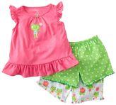 Carter's frog pajama set - baby
