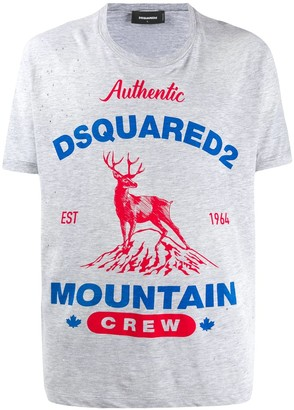 DSQUARED2 distressed effect T-shirt