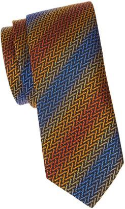 Missoni Iridescent Stripe Silk Tie