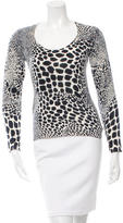 Magaschoni Cashmere Patterned Sweater