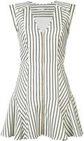 Veronica Beard striped mini dress - women - Cotton - 2