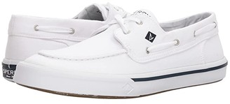 Sperry Bahama II Boat Washed Sneaker (White) Men's Shoes