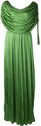 Lanvin Long draped dress