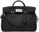 Maison Margiela Black Large Exposed Lining Duffle Bag