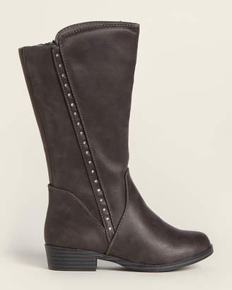 Mia Toddler/Kids Girls) Grey Laray Tall Boots