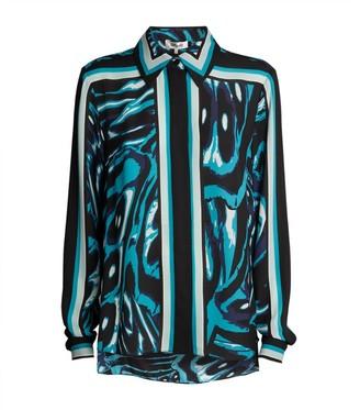 Diane von Furstenberg Mai Print Shirt