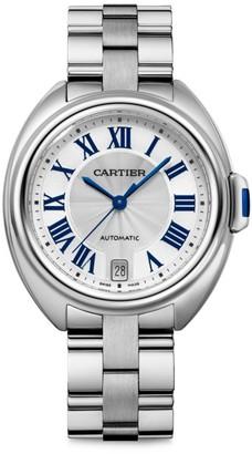 Cartier Cle de Stainless Steel Bracelet Watch/35MM