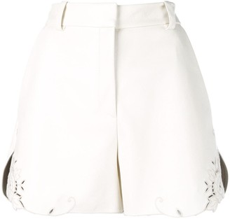 Stella McCartney broderie anglaise trim shorts