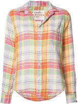 Frank And Eileen Barry shirt - women - Linen/Flax - XL