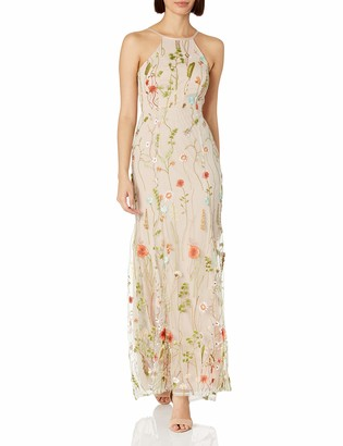 Jump Junior's Floral Embroidered Gown