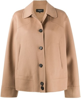 Rochas Relaxed-Fit Wool Coat