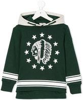 Moncler American-Indian printed sweatshirt - kids - Cotton - 4 yrs
