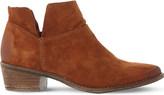 Steve Madden Phoenix cutout suede ankle boots