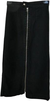 Eckhaus Latta Black Denim - Jeans Skirt for Women
