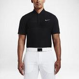 Nike Momentum Fly Swing Knit Stripe Alpha Men's Slim Fit Golf Polo