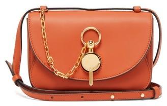 J.W.Anderson Keyts Mini Leather Cross-body Bag - Womens - Brown
