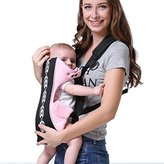 Brights two 5 Positions Butterfly Baby Carrier, Baby Sling, Special Ergonomic Design And Environmental Protection Material (Pink)