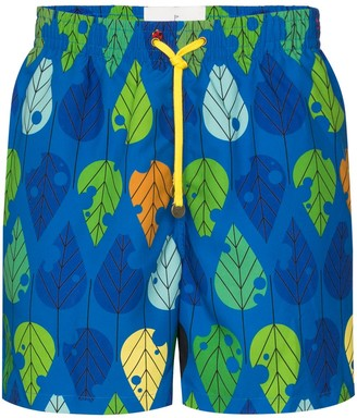 Trunks Timo x Yune Long Prep Autumn swim shorts