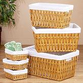 Irena Basket Collection, Honey